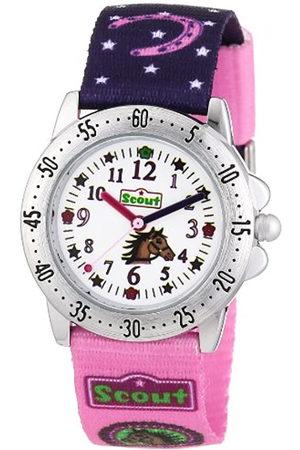 Scout Reloj analógico para niña de Tela