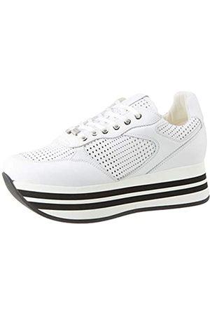 Frau Sneakers, Zapatillas para Mujer, (Bianco Bianco)