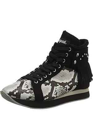 Desigual Shoes_miwok B&w, Zapatillas Altas para Mujer, ( 2000)