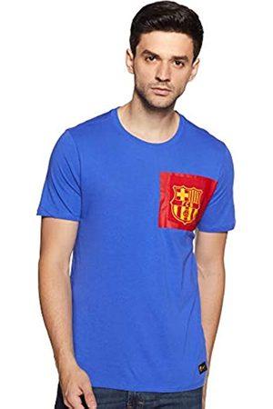 Nike Fcb M Nk Tee Crest Camiseta de Manga Corta Fc Barcelona, Hombre
