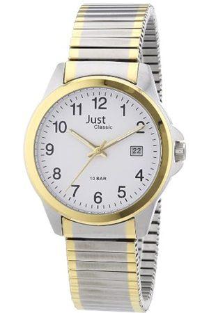 Just Watches Just Just - Reloj analógico de caballero de cuarzo con correa de acero inoxidable - sumergible a 100 metros