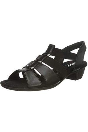 Gabor Shoes Mujer Sandalias - Comfort Sport, Sandalia con Pulsera para Mujer, (Schwarz 57)