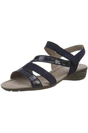 Gabor Shoes Gabor Casual, Sandalia con Pulsera para Mujer, (Bluette 36)