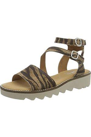 Gabor Shoes Comfort Sport, Sandalia con Pulsera para Mujer, (New/Rose/Rabbit 21)