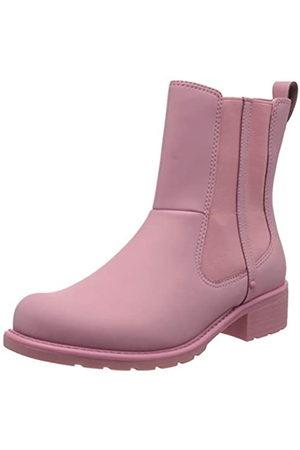 Clarks Orinoco Rain, Botas de Agua para Mujer, Pink