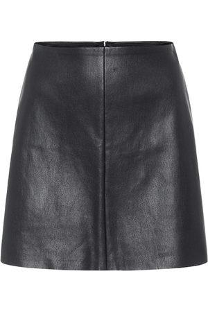 Stouls Mujer Minifaldas - Minifalda Santa Maria de piel