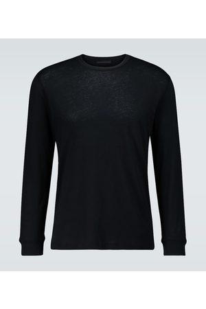 WARDROBE.NYC Camiseta de algodón de manga larga
