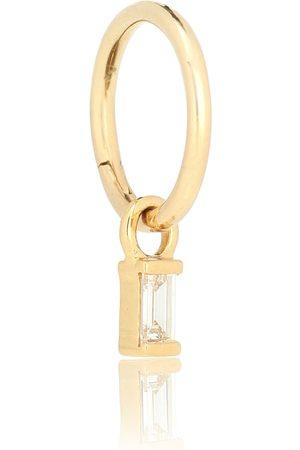 Maria Tash Argolla de oro de 18 ct y diamantes