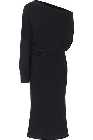 MM6 MAISON MARGIELA Vestido de crepé de un solo hombro