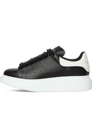 Alexander McQueen | Mujer Sneakers De Piel Bicolor 45mm /blanco 41