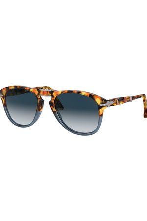 Persol PO0714 112032 Brown Tortoise/Opal Blue