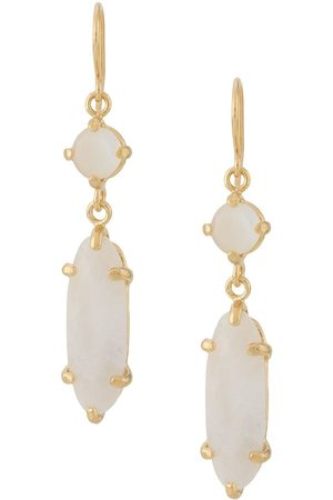 WOUTERS & HENDRIX I Play mother of pearl moonstone earrings