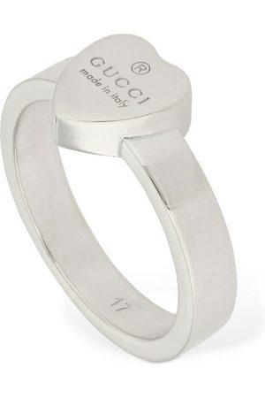 Gucci | Mujer Logo Heart Ring 13