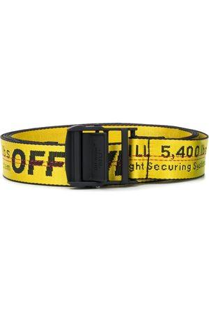 OFF-WHITE Cinturón con diseño industrial y logo