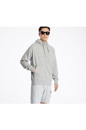 Nike Sportswear Club Hoodie Dk Grey Heather/ Matte Silver/ White