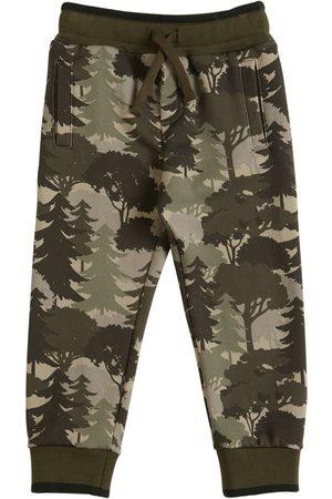 Dolce & Gabbana | Niño Printed Cotton Sweatpants 8a