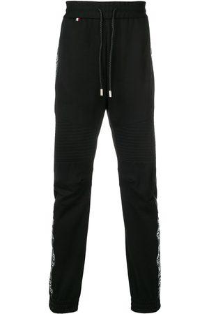 Philipp Plein Pantalones deportivos con banda con logo