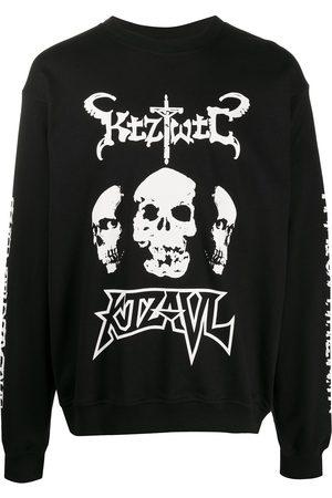 KTZ Sudadera TWTC Skulls con cuello redondo
