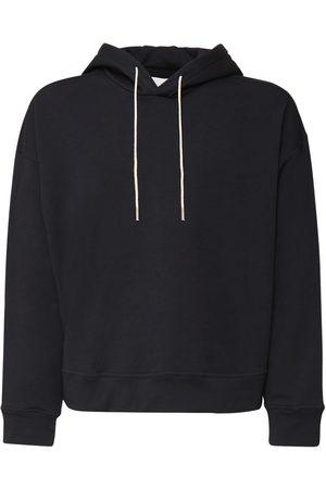 Jil Sander | Hombre Logo Embroidery Organic Cotton Hoodie S