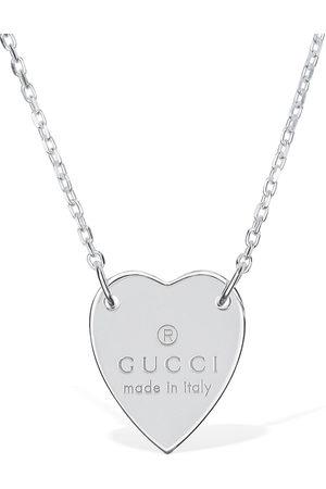 "Gucci Mujer Collares - | Mujer Collar "" Heart"" 48cm Unique"