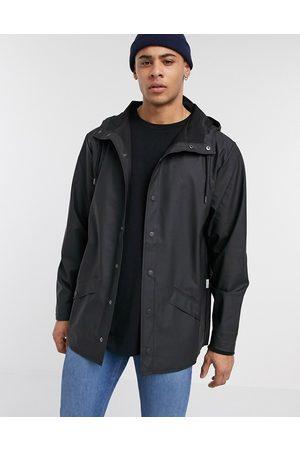 Rains Chaqueta ligera negra con capucha de -Negro