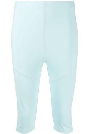 Styland Mujer Bermudas - Pantalones cortos por la rodilla ajustados