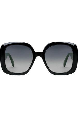 Gucci Gafas de sol con montura cuadrada