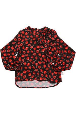 Nº21 | Niña Camisa De Viscosa Con Estampado 8a