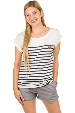 Iriedaily Slothy Stripe T-Shirt blanco