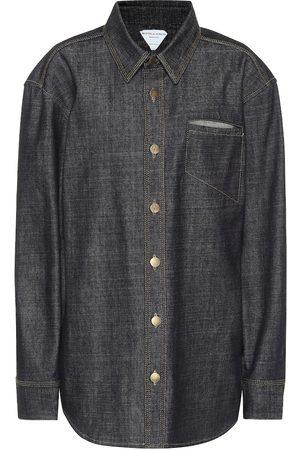 Bottega Veneta Camisa de jeans