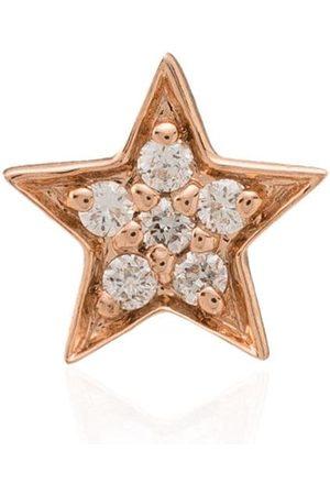Andrea Fohrman Pendiente en oro rosa de 14kt con diamantes