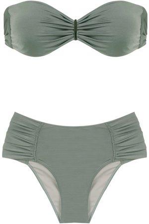 Brigitte Mujer Bikinis - Bikini con diseño fruncido