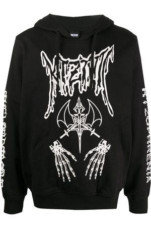 KTZ Sudadera con capucha y estampado Dead Metal