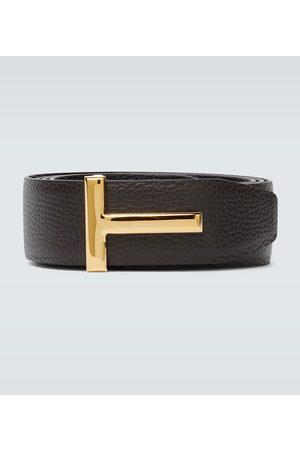 Tom Ford Cinturón de piel reversible