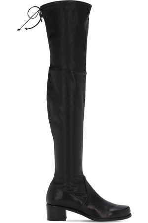 Stuart Weitzman   Mujer 40mm Midland Over-the-knee Leather Boots 4.5