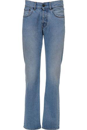 Maison Margiela | Mujer Jeans Skinny De Denim De Algodón 36