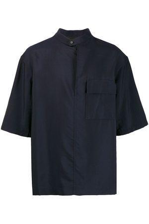 3.1 Phillip Lim Camisa oversize con cuello mao