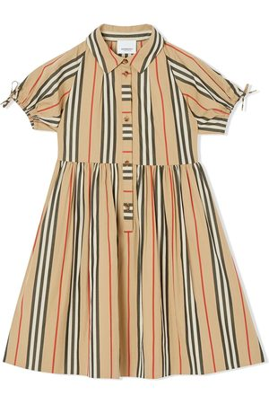 Burberry Vestido Icon Stripe