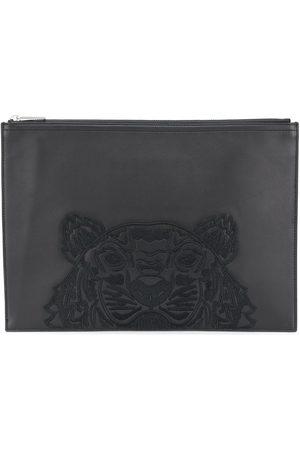 Kenzo Bolso de mano con bordado Tiger
