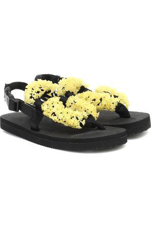 Cecilie Bahnsen X Suicoke sandalias Kat adornadas