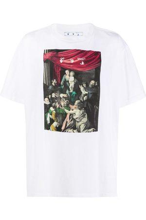 OFF-WHITE Camiseta con estampado Caravaggio