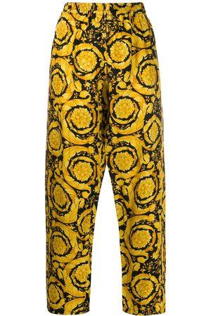 VERSACE Pantalones de piyama con estampado barroco
