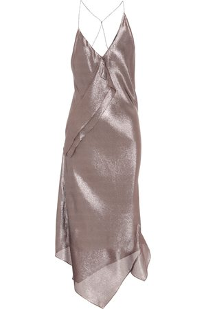 Roland Mouret Exclusivo en Mytheresa – vestido asimétrico Jimboy en mezcla de seda
