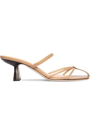 By Far | Mujer 70mm Edita Leather Sandals 35
