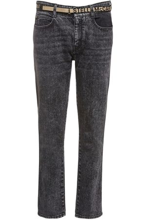 Stella McCartney | Mujer Eco Denim Skinny Boyfriend Jeans W/ Belt 24