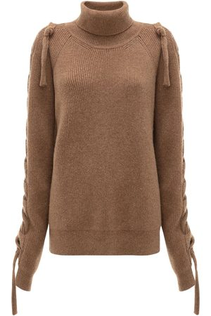 J.W.Anderson | Mujer Wool Blend Knit Sweater Xs
