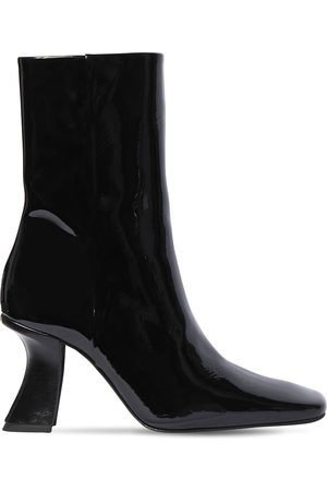 By Far | Mujer 85mm Demi Patent Leather Ankle Boots 35