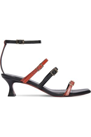 MANU | Mujer 50mm Naomi Leather Sandals /multi 35