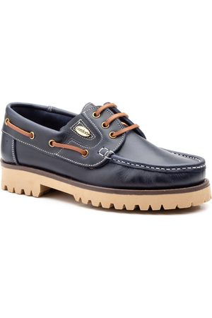 Iberico Shoes Náuticos Zapatos nauticos de piel by Iberico para hombre
