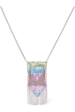 Paco rabanne | Mujer Collar Con Colgante De Malla Multicolor /silver Unique